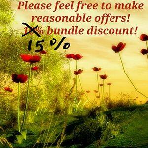 15% off bundles